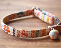 Boho Cat Collar by CatPomPoms on Etsy