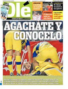Domingo 29 de Abril del 2012. http://www.ole.com.ar/la-tapa/