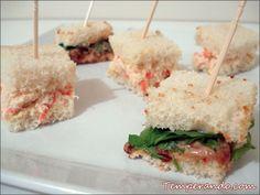 Dica de petisco. Mini sanduíches. Rápido e fácil de fazer e com diversas possibilidades de recheio. Entre e confira.