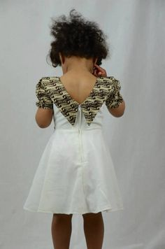 Trendy clothing on latest african fashion look 251 African Babies, African Dresses For Kids, African Children, African Print Dresses, African Print Fashion, African Women, African Prints, African Attire, African Wear