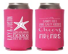 Destination Wedding Favors Mexico Wedding Party by SipHipHooray
