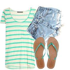 LOLO Moda: Cute  Simple summer fashion for women