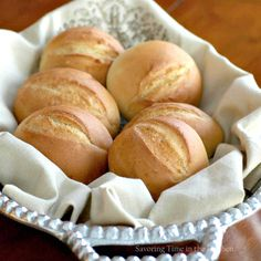 ### Savoring Time in the Kitchen: Angie's German Hard Rolls with Poolish Adapted from Angie's Recipes which was also adapted from Plotzblog