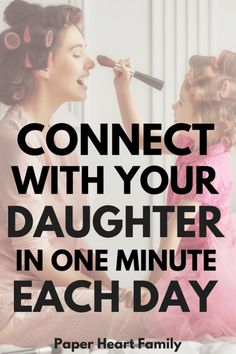 Finding time to connect with your kids one-on-one each day is important, but sometimes mom life is busy. These collection Gentle Parenting, Kids And Parenting, Parenting Hacks, Parenting Plan, Peaceful Parenting, Parenting Quotes, Raising Daughters, Raising Girls, Dad Advice