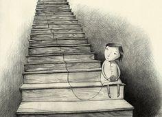 Joanna Rusinek, ilustracje do tekstu Doroty Combrzyńskiej-Nogala we wspólnej książce Bezsenność Jutki, fot. dzięki uprzejmości artystki - photo 3
