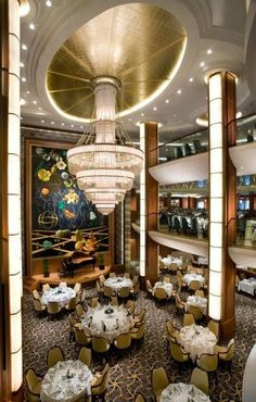 Royal Caribbean's Oasis of the Seas cruise ship, interior design by RTKL