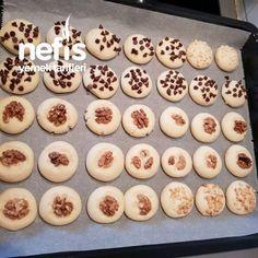 Tek Hamurla Çesitli Kurabiyeler - Nefis Yemek Tarifleri Doughnut, Muffin, Breakfast, Desserts, Food, Baking, Morning Coffee, Tailgate Desserts, Dessert