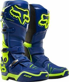 Fox is the leader in motocross and mountain bike gear, and the apparel choice of action sports athletes worldwide. Shop now from the Official Fox Racing® Online store. Dirt Bike Boots, Mx Boots, Dirt Bike Helmets, Dirt Bike Gear, Motorcycle Dirt Bike, Grey Boots, Dirt Biking, Motocross Love, Motocross Gear