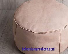 Bohemia Marrakech pouf leather Original by BohemiaMarrakechCom Square Pouf, Marrakesh, The Originals, Trending Outfits, Moroccan, Leather, Etsy, Bohemia