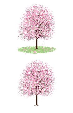 _Vector - Pink Cherry Blossom Tree CS by DragonArt; Nice selection of free files
