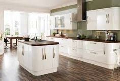 Image result for high gloss kitchen island ideas