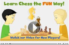 ChessKid.com... How to play chess: free online chess lessons for kids. Play against the computer. Chess resources for teachers and parents. Chess videos.   Free Chess Curriculum