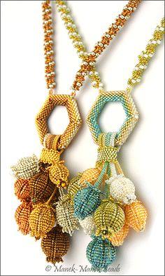Seedpods 2 by Manek-Manek Beads