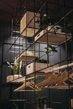 Beautiful plant display. Incorporate into my 2015 plant plan. MIKÔTO Japanese Cuisine