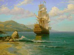 Peinture Lazurowe Wybrzeże - L