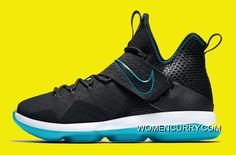 f7300cd8a7e Nike LeBron 14  Red Carpet  Black Black-Glass Blue Top Deals