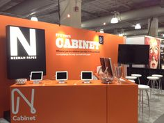 Neenah Cabinet Booth - HOW Boston