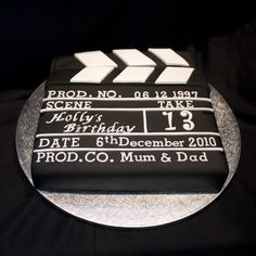 Film board cake!