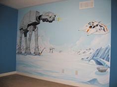 Star Wars Mural