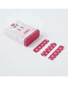 K2POP - LINE FRIENDS STORE OFFICIAL GOODS : CONY CHARACTER BAND-AID SET WITH TIN CASE