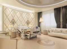 Charmant Hospital Royal Suite Bed