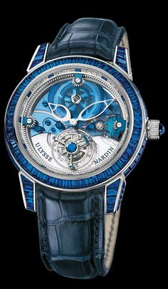 799-98BAG - Royal Blue Tourbillon Haute Joaillerie - Exceptional - Welcome to the Ulysse Nardin collection - Ulysse Nardin - Le Locle - Suisse - Swiss Mechanical Watch Manufacturer