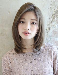 Haircuts For Small Faces, Haircuts For Medium Length Hair, Medium Hair Cuts, Short Hair Cuts, Medium Hair Styles, Long Hair Styles, Asian Short Hair, Asian Hair, Japanese Short Hair