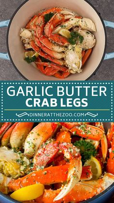 Salmon Recipes Discover Crab Legs with Garlic Butter Crab legs that are steamed then tossed in garlic and herb butter. Seafood Boil Recipes, Lobster Recipes, Crab Recipes, Salmon Recipes, Mexican Food Recipes, Dinner Recipes, Cajun Seafood Boil, Seafood Meals, Fresh Seafood