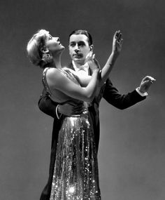 """summers-in-hollywood: """" Carole Lombard & George Raft in Rumba, 1935 """""""