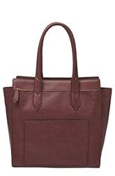 Fossil 'Knox' Leather Tote