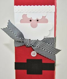 Santa box, Laura's Works of Heart