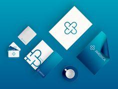 Project for Polish medical clinic Clinic Logo, Logo Concept, Branding, Projects, Polish, Medical, Design, Visual Identity, Pharmacy