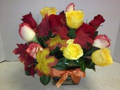 Autumn roses! Roadrunner Florist & Basket Express, Local Phoenix Flower & Gift Shop