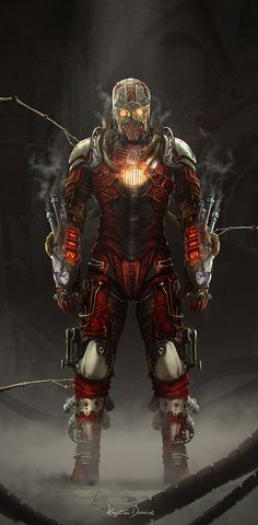 Steampunk IronMan by Nefillim