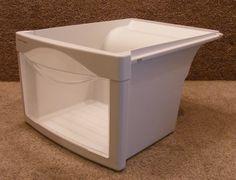WR32X10243 GE Refrigerator Crisper Drawer Pan