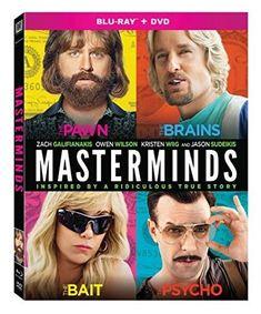 Owen Wilson & Zach Galifianakis - Masterminds #OwenWilson