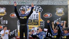 MacDonald Returns to Victory Lane in K&N East at Bristol | Fan4Racing  http://fan4racing.com/2014/03/15/macdonald-returns-to-victory-lane-in-kn-east-at-bristol/  Eddie MacDonald celebrates in Victory Lane Saturday after winning the PittLite 125  at Bristol Motor Speedway - his seventh career NASCAR K&...