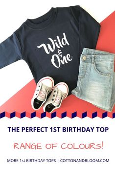 This Wild and One birthday tshirt, can be customised in the colours of your choice, so you can create the perfect outfit, just for you! Navy Birthday, Birthday Ideas, Mountain Designs, 1st Birthdays, Inspiration For Kids, Wild Ones, Boy Outfits, Kids Fashion, Bloom