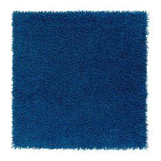HAMPEN Teppich Langflor - leuchtend blau - IKEA 6,99€
