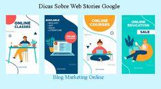 Como Criar Web Stories Com WordPress Inbound Marketing, Marketing Online, Digital Marketing, Wordpress, Biology Online, Math Literature, Online Art Courses, Modern Graphic Design, Google