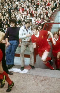 23 August 1977: Anfield welcomes its new king. Photo: Steve Hale  Click here to buy this print from the Official Liverpool FC Picture Store