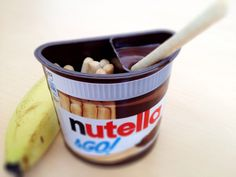 I've bought -soooo- many of these nutella & go's... Best pick me up you could have in the afternoon.
