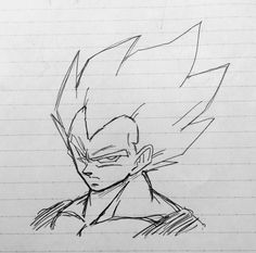 Naruto Sketch, Anime Sketch, Dragon Ball Image, Dragon Ball Z, Cool Art Drawings, Drawing Sketches, Ball Drawing, Epic Characters, Ideas