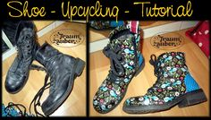 Traumzauber: Upcycling - Tutorial - Shoes