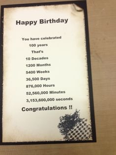 303 Best Milestone Birthday Card Ideas Images On Pinterest In 2018