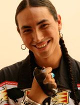 Tatanka Means--comedian, son of Gloria Grant Means and Russell Means