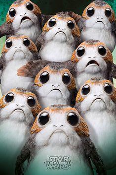 Star Wars : The Last Jedi   #porgs