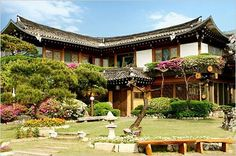 Korean traditional home style