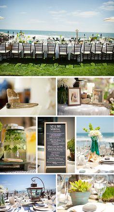 Beach wedding @ the new beach house!