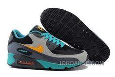 https://www.jordanse.com/nike-air-max-90-mens-black-grey-blue.html NIKE AIR MAX 90 MENS BLACK GREY BLUE Only 79.00€ , Free Shipping!